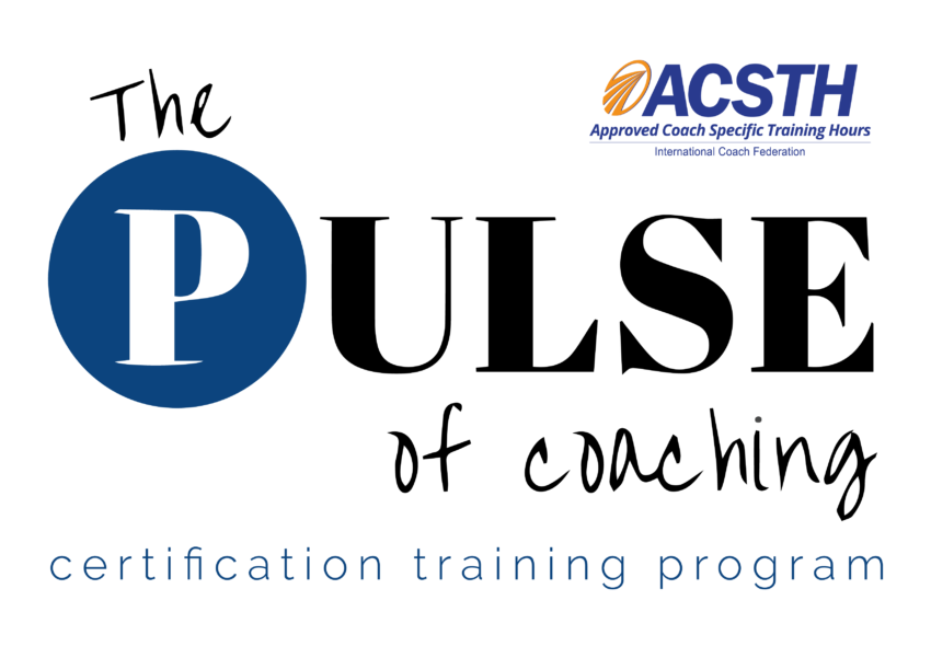 The Pulse Of Coaching Certification Coach Training